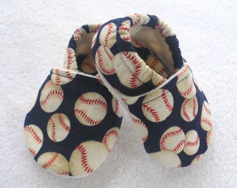Baby Boy Baseball Shoes  / Navy Blue or red