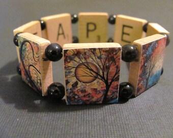 MADART Reversible Scrabble Bracelet