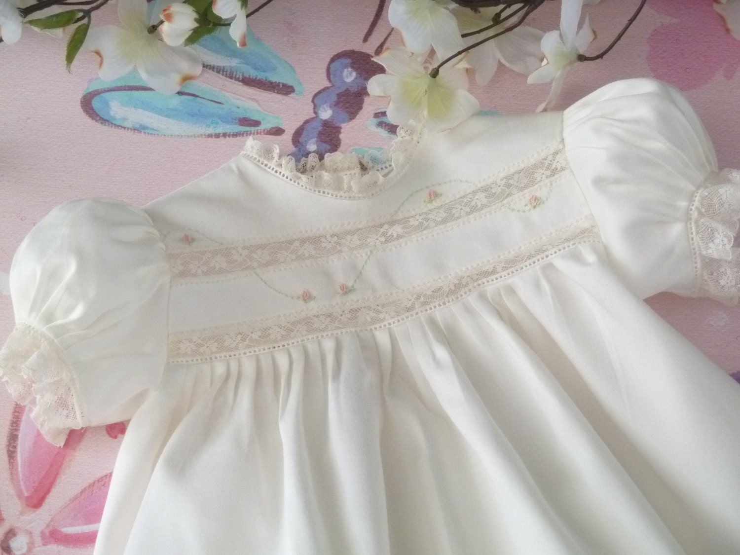 Heirloom Baby Dress And Bloomers