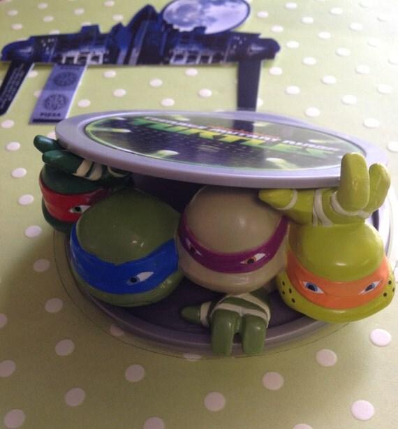 Teenage Mutant Ninja Turtle Cake Kit by ChristyMaries83 on Etsy