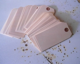 Manilla Tags Tags for Art Projects Journaling Cream Colored Tag