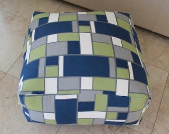 Square Pouf Floor Pillow Hopscotch