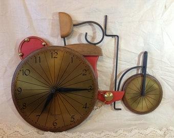 Tractor Clock Vintage Clock Collectible Clocks