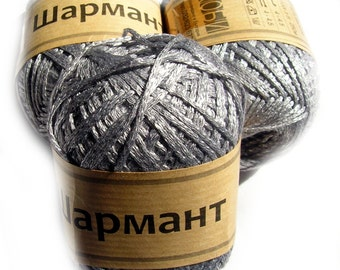 Bamboo Viscose blend Yarn Sharmant, Hypoallergenic, Natural, Soft. DSH(P2)