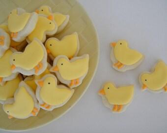 Baby Chick Cookies (2 Dozen)