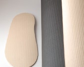 Slipper soles for my felted footwear - light rubber soles for slippers and clogs