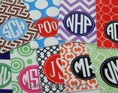 Monogrammed Bag Tag - Personalized luggage tag - Choose your design - Great graduation gift