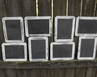 4 x 6 Double Sided Real Slate Chalkboard Country Chic Farmhouse Ceremony