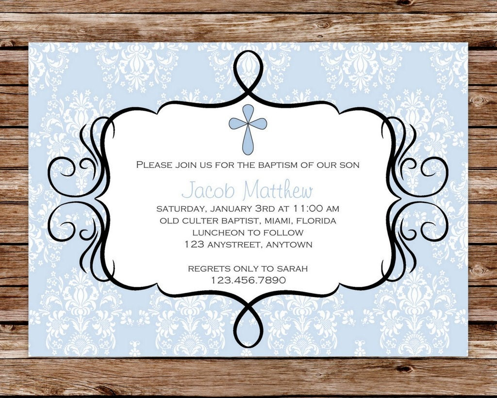 Invitation For Dedication with luxury invitations example