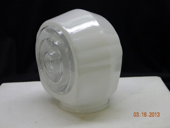 Vintage Light Cover vanity light porch light by HeyJunkman on Etsy