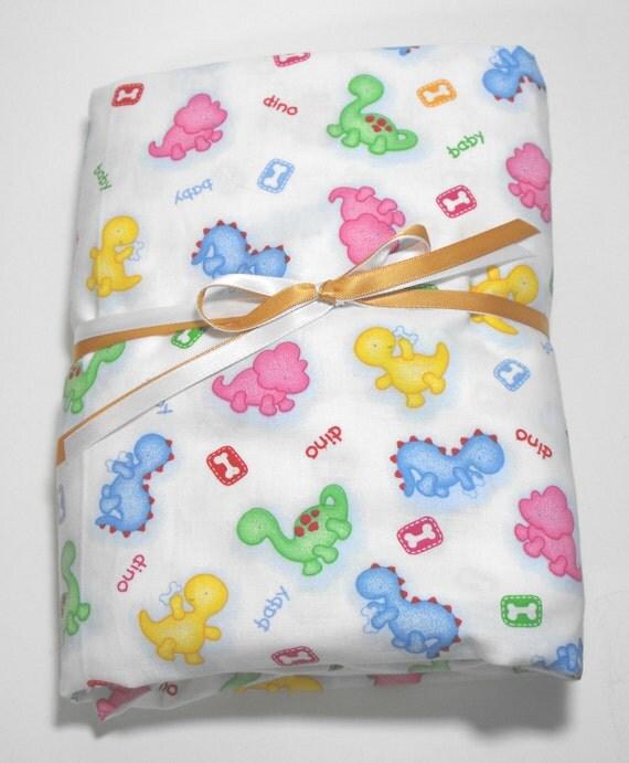 Baby Dinosaur Bedding Toddler Sheet Crib Sheet Fitted