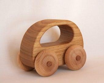 Wooden Toy Car Chestnut wood