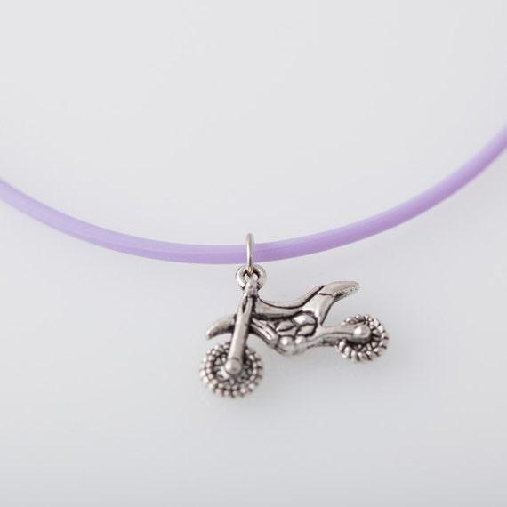 items similar to dirt bike necklace motocross atv