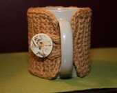 Mug Cozy.  Coffee Tea Sleeve