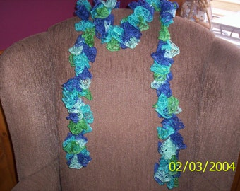 Lacey Frilly Scarf
