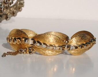 Vintage Gold Monet Bracelet