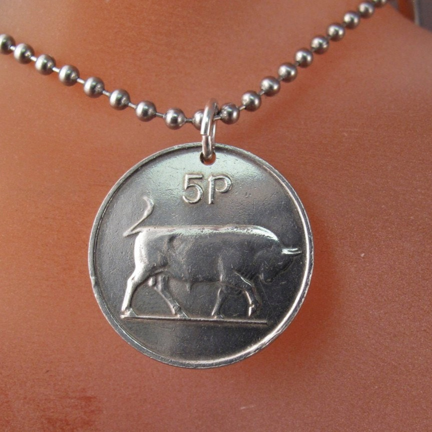 bull necklace jewelry ireland pendant bull