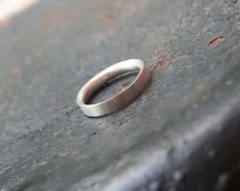 Sterling Silver Polished Textured 4 mm Thick Comfort Fit Wedding Band Sterling Silver Ring