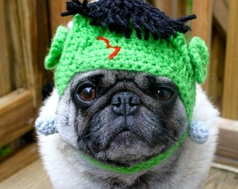 Frankenstein Dog Hat / Cat Hat /  Made To Order