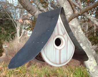 MODERN BIRDHOUSE   Wooden Bird houses   Unique Bird house