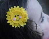 Sun Hair Clip- Meet Miss Sunnie