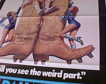 North Dallas 40 27x41 vintage Movie Poster 1 Sh  790134 vintage 1979 one sheet Rare