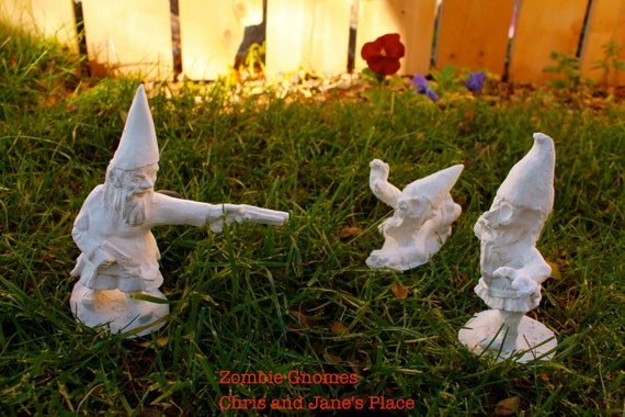 DIY Zombie Gnomes: Collection with Optional Paint Kit