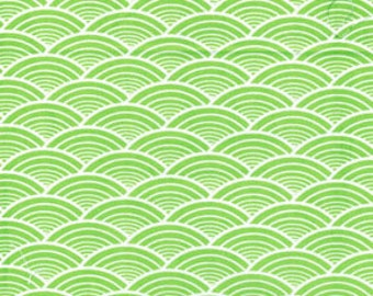1 yard of Kanvas by Benartex Lili-fied Arches Green