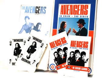 The Avengers Trading Cards Lot of 4 Packs