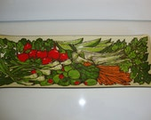 Vintage Relish Tray, Relish Dish, Vegetable Tray