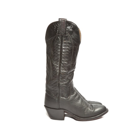 Awesome Women39s Ladies Tall Distressed Leather Cowboy Boots Western Riding