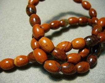Red Jasper Rice Beads Gemstone 8x5MM