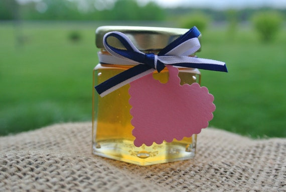 Wedding Favors, Honey Favors, 96 Jars