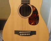 """Hand Made Pickguard For Little Martin And Baby Taylor Guitar (and any other guitar with a 4"""" soundhole)"""