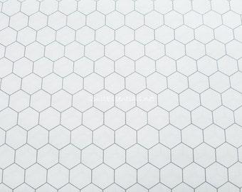 Moda - Chicken Wire on White