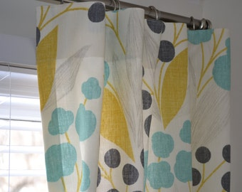 Window Curtains 50wide and 84 long any size