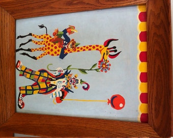 circus paint by number