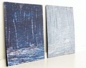 "Sale . Etching Prints . Abstract Art . Print Sets:Either/Or 10  & 14 . Print Size 8"" x 8"" . - ElviaPerrin"