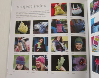 Fun & Funky Knitting Emma King 30 Patterns to Knit Bags Socks Flowers