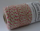 Holiday Divine Twine - 240 Yards - FULL Spool - Bakers Twine Party Supplies