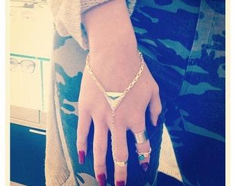 Aurora Galactic Ring Bracelet Love Boho Festival Fashion Coachella Festival Fashion