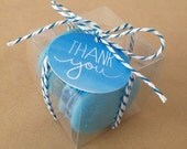 30 Clear Favor Boxes - Clear Boxes - 2 inches Cube