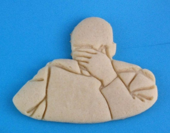 Picard Face Palm Meme Cookie Cutter