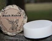 Buck Naked Unisex Goat's Milk Shaving Soap by Rural Revolution llc
