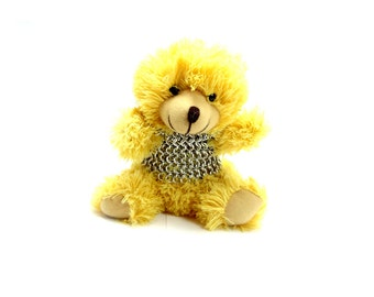 Teddy Bear Knight - Sir Galla-Had-Courage Chainmaille Armor