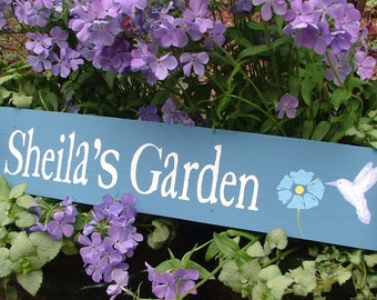 Personalized garden Etsy