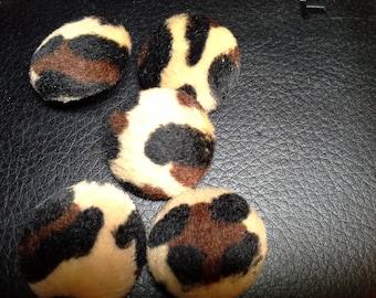 Animal Print Buttons