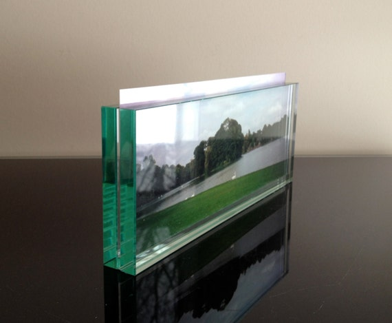 Milano glass block panoramic frame for Glass block window frame