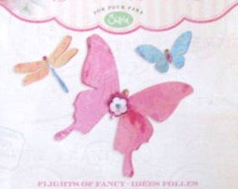Sizzix Sizzlits FLIGHT OF FANCY by Brenda Walton