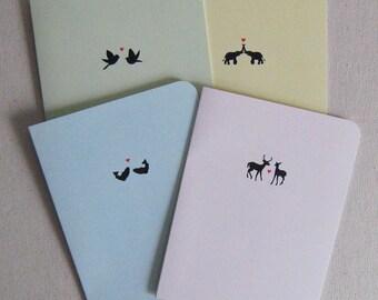 silo animal card set